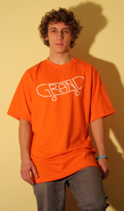 T-shirt orange M/L/XL