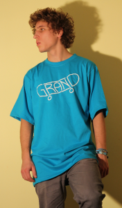 T-shirt blue M/L/XL