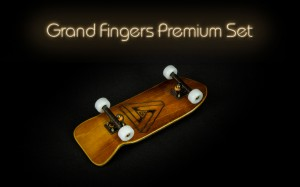 Premium set - GF Golden deck 33mm, BRT 32mm, Grand GHOST-RIDE wheels black (1) (1) (1) (1) (1)
