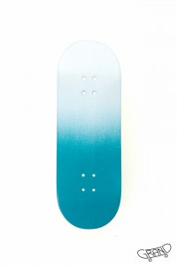 GF FULL COLOUR deck – FADED turquoise/white