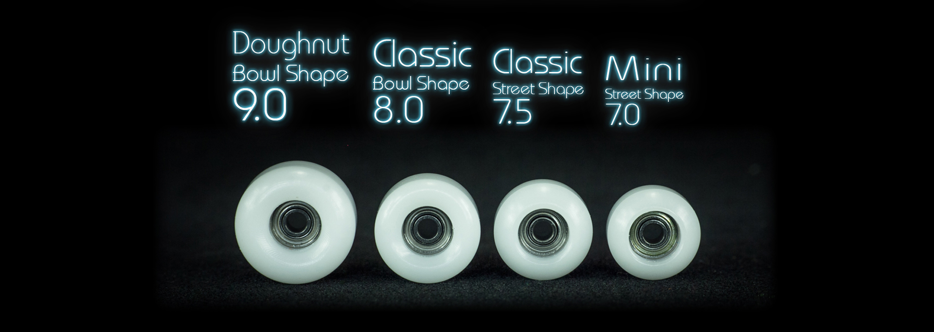 Grand GHOST wheels Chart - DOUGHNUT BOWL CLASSIC STREET Mini