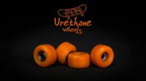 Grand Fingers Urethane bearing wheels - orange