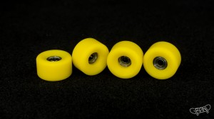 Grand Fingers Urethane 9.0 bearing wheels - yellow
