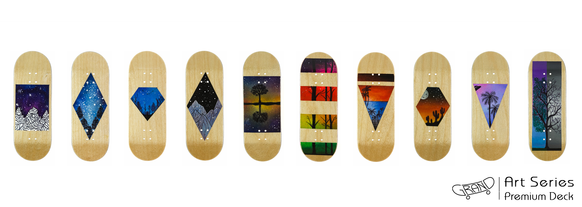 Grand Fingers Premium Decks Art Series 01